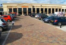 Car Parks / Paving and Walling