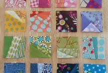 Scraptastic! / Whether it's in a quilt, an apron, a table top, or even mending a pair of jeans, it's just so fulfilling to use up all the scraps!  | |  #scrappy #colorful #upcycle #DIY