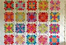 Handmade (EPP) / As far as technology has come, there's still nothing like a quilt that's been hand sewn!