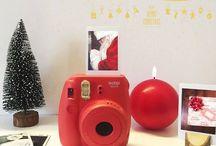 INSTAX CHRISTMAS / Inspiraciones creativas para nuestra Instax Navidad