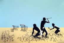 Banksy / Banksy Street Art from Gallery Ministry of Walls Miami/Cologne http://www.minsitryofwalls.com