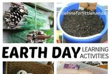 Earth Day for Kids / Earth Day children's activities, Earth Day crafts, Earth Day art, Earth Day projects, environment activities for kids, conservation for kids.