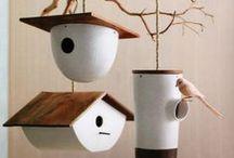 Birdfeeders and ideas