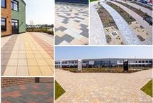 Project Collages & Graphics / Paving & Walling