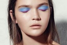 2016 Beauty Trends - Blue Eye Shadow / Blue Eye Shadow Is Something We Normally Think To Steer Clear Of, Not this Spring!! Blue Shadows And Liners Are Making A Massive Come Back And Can Look Amazing When Applied Correctly!