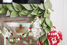 Holiday Inspiration / All things twinkle lights and festive holidays can be found here. Beautiful DIY, craft, decorating ideas for your holiday season home or studio.