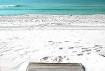 i believe in the sand between my toes / by Sarah Rogers