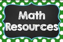 Math / When I began Pinterest, I pinned all my math pins here.  Then, I wised up!  I recently created math boards for individual concepts (Fractions, Decimals, Number Sense, etc.) Come Follow Me there, too! / by Teaching with a Mountain View