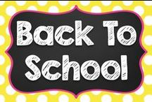 Back to School / Start the year off right with these Back to School ideas! / by Teaching with a Mountain View