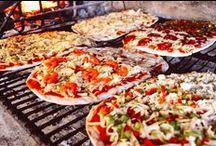 PIZZAS BBQ / pizzas a la parrilla Uruguay / Bbq pizzas, pizzas a la parrilla, from Uruguay, by Multifiesta