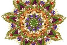 Danmala: Flower Mandalas by Kathy Klein / by Jannie Dough