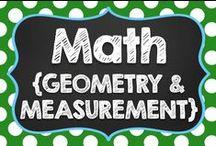 Math {Geometry & Measurement}