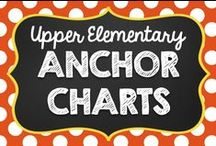Anchor Charts {Upper Elementary} / Anchor Charts for Grades 3, 4, and 5.   No paid products, please. :) If you would like to pin to this board, email me at teachingwithamountainview@gmail.com .