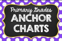 Anchor Charts {Primary Elementary} / Anchor Charts for Grades K, 1, and 2.   No paid products, please. :) If you would like to pin to this board, email me at teachingwithamountainview@gmail.com .