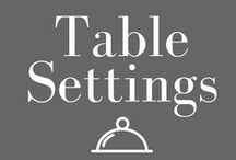 table setting / Learning to set tables #likeaboss *Affiliate links disclosed