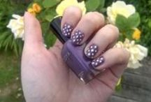 My nail art / Nail art that I've created and featured on my blog.