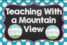 Teaching With a Mountain View / A collection of blog posts and ideas from Teaching With a Mountain View!