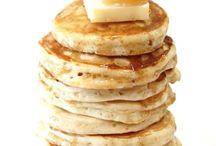 makin' banana pancakes / Breakfast  / by Sarah Rogers
