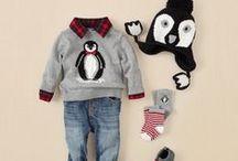 Christmas baby outfits / Babies at Christmas, cute seasonal outfits