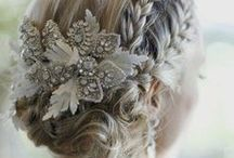Wedding hair inspiration / Different hair styles and looks for your special day.