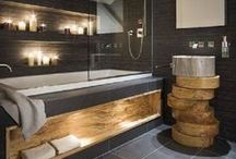 Stunning bathrooms / From complete bathrooms, to shower rooms to downstairs loo's - it's all about the bathroom :)