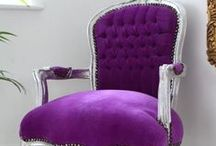 {VIOLET   Secondary Color} / Add these ideas to your Color Inspiration Notebook for Creating Gorgeous Painted Furniture http://mypatchofbluesky.com/buy-color-inspiration-notebook-2/