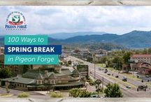 100 Ways to Spring Break in Pigeon Forge / Come explore the Land of More this Spring Break in Pigeon Forge! Find things to do, places to stay and delicious dining options.  / by Pigeon Forge Dept. of Tourism