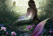 Mermaid Illustrations