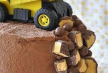 Kids Party: Trucks / Construction / Beeeep, beeeep, beeeep. Backing up into an epic construction or truck-themed birthday party? Get ideas for decorations, games, cakes, food, favors and more.
