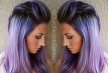 Awesome hair colours / From mermaid to unicorn to goth