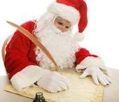 Love Santa letters / Children enjoying letters to and from Santa Claus