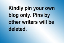 Our Writers & Blogs / Dear Wordweavers who have contributed to our ezine feel free to pin your blog on this board. How:  1) Choose the best of your blogpost with an image. 2) Download the image, pin it on in of your one of your own boards. 3) Click edit, add your main blog link. 4) Repin it to this board.