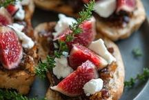Pomegranate, Pomegranate, Fig, Prune & Persimmon. / culinary love notes to the fruits KC's family grows.