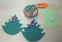 Thema: KERSTPLEZIER / Alles rond Kerst, kerstbomen, zuurstokjes, cadeautjes, de kerstman,... / by Katia Van De Putte