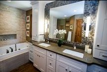 Our Bath Projects / Callier & Thompson has been renovating St. Louis bathrooms for over 60 years. Modern, vintage, elegant, traditional, or transitional . . . you'll find it all in our gorgeous bathroom remodel board.