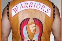 The Warriors James Remar Ajax Vest / Buy James Remar Ajax Leather Vest from the online store famousjackets.com at affordable price with free shipment on order over 200$....
