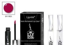 Liquid Lip Color Mini Kit / The LIP INK® Mini Kit includes one LIP INK® Lip Color of your choice along with our Classic Lip Shine Moisturizer that is applied before the color and an OFF Vial.