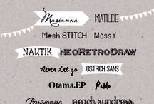 Lovely fonts & templates