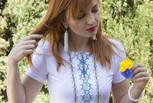 Contemporary embroidered shirts / Real Ukrainian embroidery on shirts appropriate for everyday casual wear