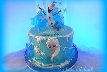 Kindergeburtstags-Torte Birthday Cakes Kids Sanelas Tortenwelt / Kindergeburtstagstorte 1.Geburtstag 3D Torten Cakes