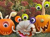 Fall Pumpkin Carving Ideas / Pick up a pumpkin from our pumpkin patch at the Fall Festival & Corn Maze this Fall! Here are some ideas of creative ways to carve and decorate your pumpkins!