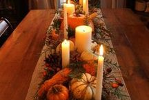 Fall Decorations / In spirit of the Fall Festival & Corn Maze, Barton Hill Farms pins festive, fall decorating ideas for you! We <3 fall!