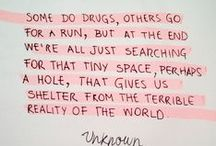 Inspiration in Words / This stuff makes sense. / by Sarah Diana