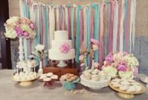 Mesas de dulces / Dessert tables and candy bar