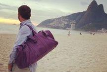 Ils se font la malle! / Collection Hurbane - Sacs de voyage en cuir pour hommes