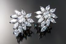 Cubic Zirconia CZ Jewelry / Cubic Zirconia CZ Jewelry: earrings, bracelets, and necklaces with quality imitation diamonds