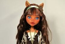 """Monster High Dolls / Originals and Custom Also, patterns and """"how to"""""""