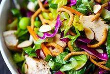 Super Salads / Salads of fruits and vegetables