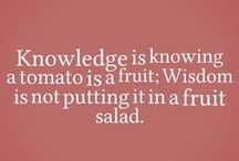 Quotes We Love / Quotes about Fruits and Veggies
