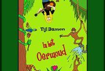 Liedjes Nationale Voorleesdagen 2014 / 6 liedjes van Tijl Damen voor de Nationale Voorleesdagen 2014 over dieren in de jungle.